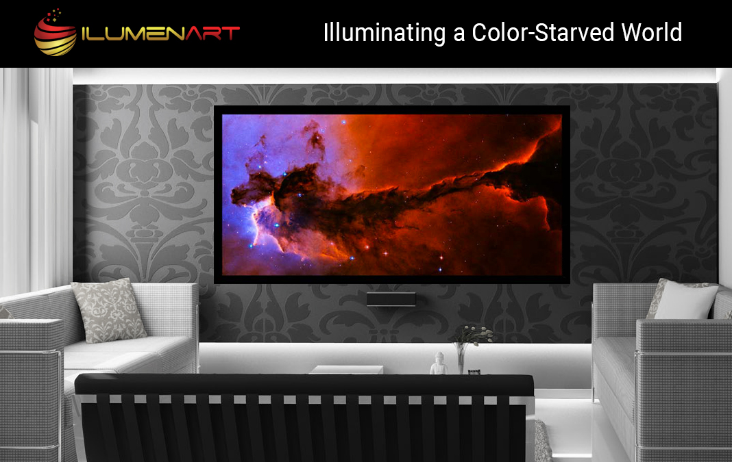 ILumenArt - LED backlit photo frames with art from top artists ...